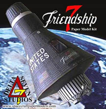 Friendship 7 Spacecraft Emblem - Pics about space